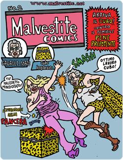 copertina del secondo episodio di Cavalli Man