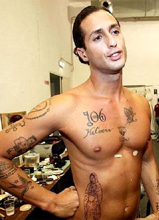 i tatuaggi in bella mostra