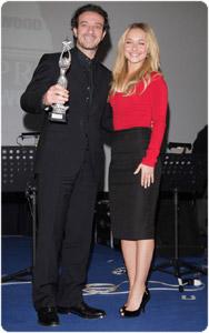 Hayden Panettiere con Ficarra