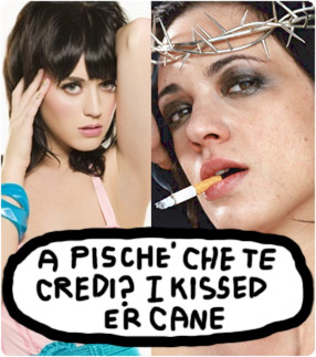 Asia Argento vs Katy Perry