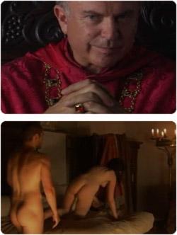 il cardinale maneggione e il culetto sodo del fustaccione